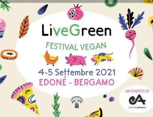 Live Green Festival Vegan a Bergamo